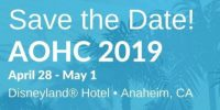 Visit us at #AOHC 2019, the American Occupational Health Conference in Anaheim California – Booth #319
